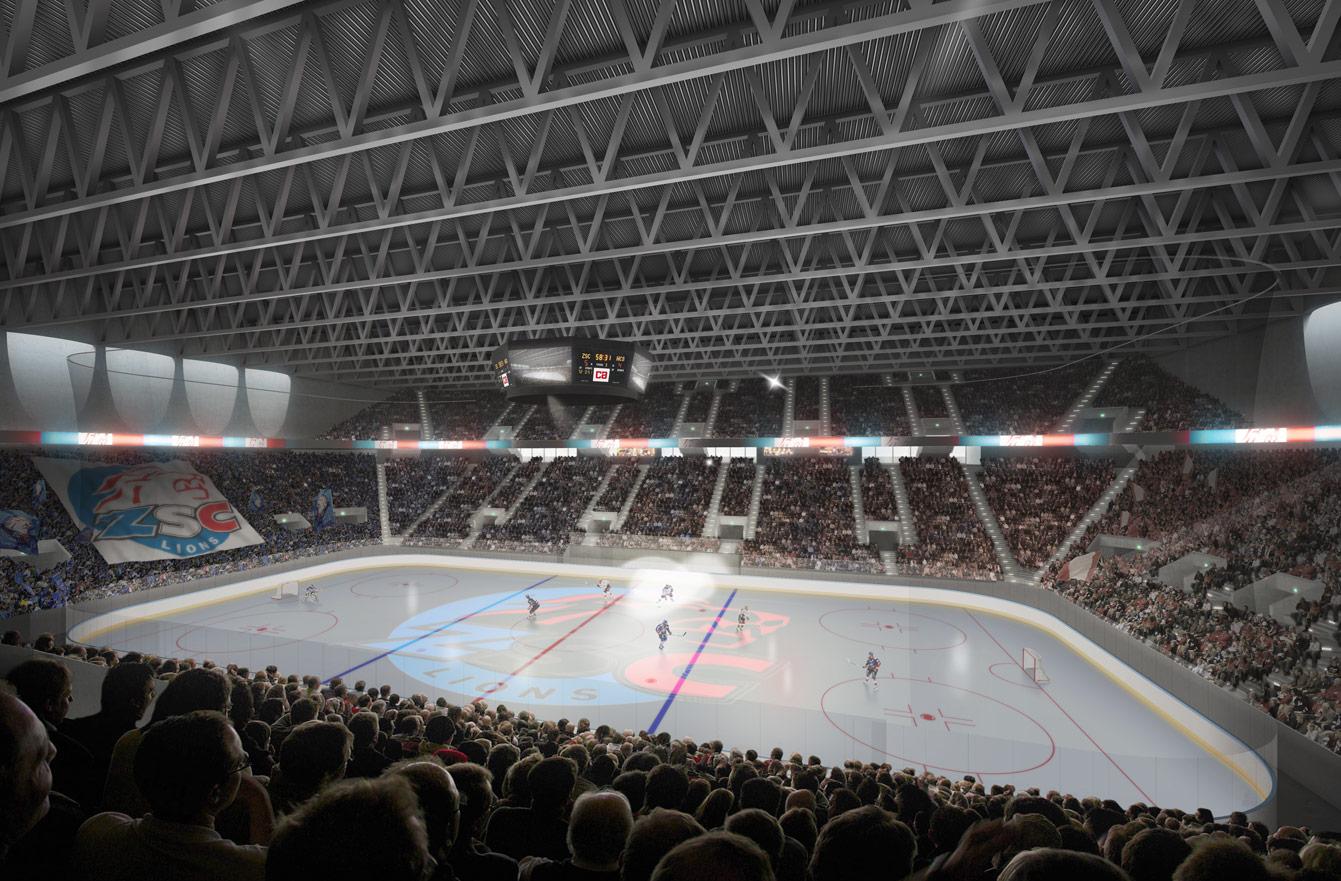 hallenstadion f r eishockey und volleyball in zu rich. Black Bedroom Furniture Sets. Home Design Ideas